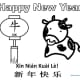 Year of the Ox Coloring Sheet 4—Doodle Ox—Landscape