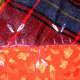 Chain stitch buds with buttonhole stitch