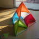 Tie tetrahedrons together, oriented same way.