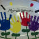 Use fingerprints and thumbprints to create the butterflies, bumblebees, and ladybugs.