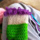 Loop stitch for bangs