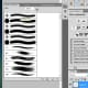 4. With the paintbrush tool pick a soft circle brush and paint outside the selected circle.