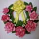 Rose wreath.