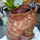 Paverpol can be used to preserve baby clothes. I used Paverpol to preserve my grand-daughter's baby pants that she outgrew. This can be used as a decorative piece or as a planter.