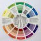 """This is the back of the Cox 133343 9 1/4"""" Color Wheel."""
