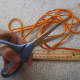 Cut a length of paracord equal to 1 foot for every inch of wrist circumference plus 1 foot