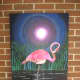 Flamingo Painting for Sale