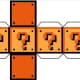 Papercraft Question Mark Block printable.