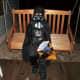 "Darth Vader says ""Happy Halloween!"""