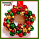 Image #7 - Retro Glass Christmas Ornament Wreath