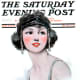 """Flapper,"" Saturday Evening Post cover 4 February 1922 by Ellen Bernard Thompson Pyle."