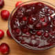 My favorite - chunky cranberry sauce/relish