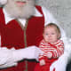 This baby is an early learner and is especially perceptive.  Santa is downright scary!