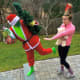 The Lynches as the Grinch and Cindy Loo Hoo