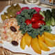 A plate of pickled vegetables is a must for any holiday table.