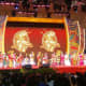 Kids performing on stage at River Hongbao to welcome Chinese New Year.