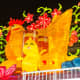 Elaborate rooster themed display to welcome the Year of the Rooster 2017