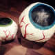 These are my Halloween eye decorations after painting.