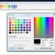 Screenshot: Define Custom Colors