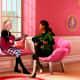 Best friends Barbie and Teresa.