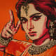 Waheeda Rehman's beautiful poster from the movie Guide