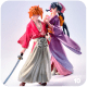 Kenshin and Kaoru action figure