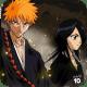 Ichigo and Rukia as Shinigami