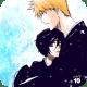 Ichigo and Rukia hugging