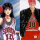Sakuragi and Haruko wearing the same jersey no.10 of Shohoku High