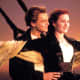 The iconic scene from Titanic.