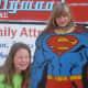 Olivia as Superman