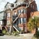 House along Oglethorp Ave.