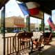 Outside Big Cedar Furniture in Calvert, Texas