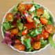 Mmm- fresh salad... and just as I like it!