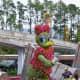 Daisy Duck - part of Epcot's International Flower and Garden Festival