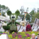 Mickey Mouse - part of Epcot's International Flower and Garden Festival
