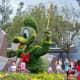 Donald Duck - part of Epcot's International Flower and Garden Festival