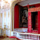 Ceremonial bedroom of Louis XIV.  Also an avid hunter, Louis XIV later helped make Chambord look like it does today.  He used the same architect that designed Versailles.