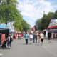 A main road at the PNE fair