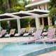 The refreshing pool of Misibis Bay Resort