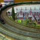 Hairpindone by Michael Lynch - a freelance English DC 00 layout running both old and new trains.
