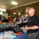Club President Don Butler visits Des Liston Lapidary Supplies at ELC in 2012.