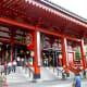 Entrance to Sensoji Temple's main hall