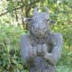 Part of a Minotaur sculpture