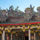 The Khoo Kongsi. A fantastically ornated clanhouse built by the Penang Chinese population.