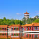 It's a little dated and 30 minutes from downtown. But the Chinese Garden in the Jurong area is still worth a look-see.