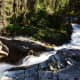 Waterfall on the way to Virginia Falls @ Glacier National Park