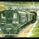 Electric train in St. Clair Tunnel at Port Huron, Michigan