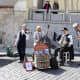Musicians on Hradcanske Namesti
