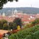 View from Villa Richter to Mala Strana.